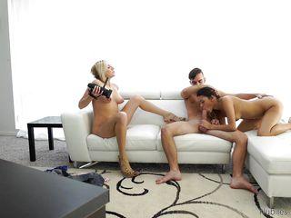 Порно брюнетки кастинг