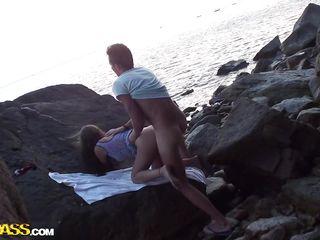 дикий пляж порно фото