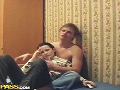 Русская мастурбация с разговорами