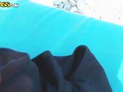 мулатки молоденькие порно на пляже