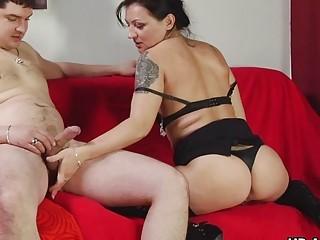 Порно огромные зрелые дамы